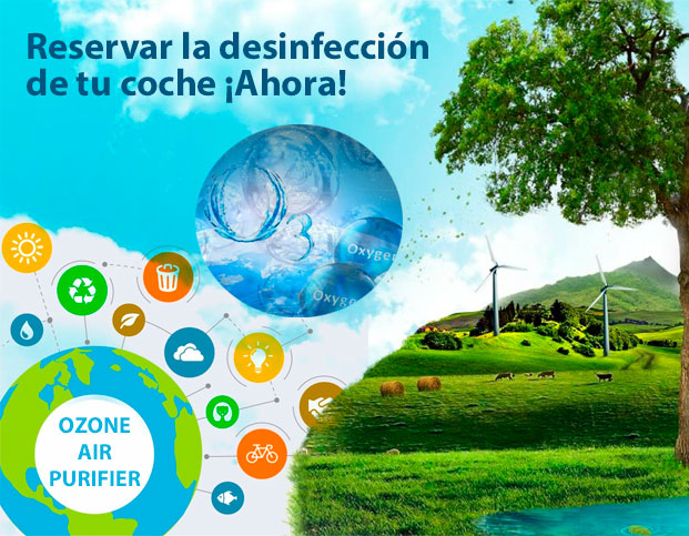 desinfecta tu coche ozone air purifier